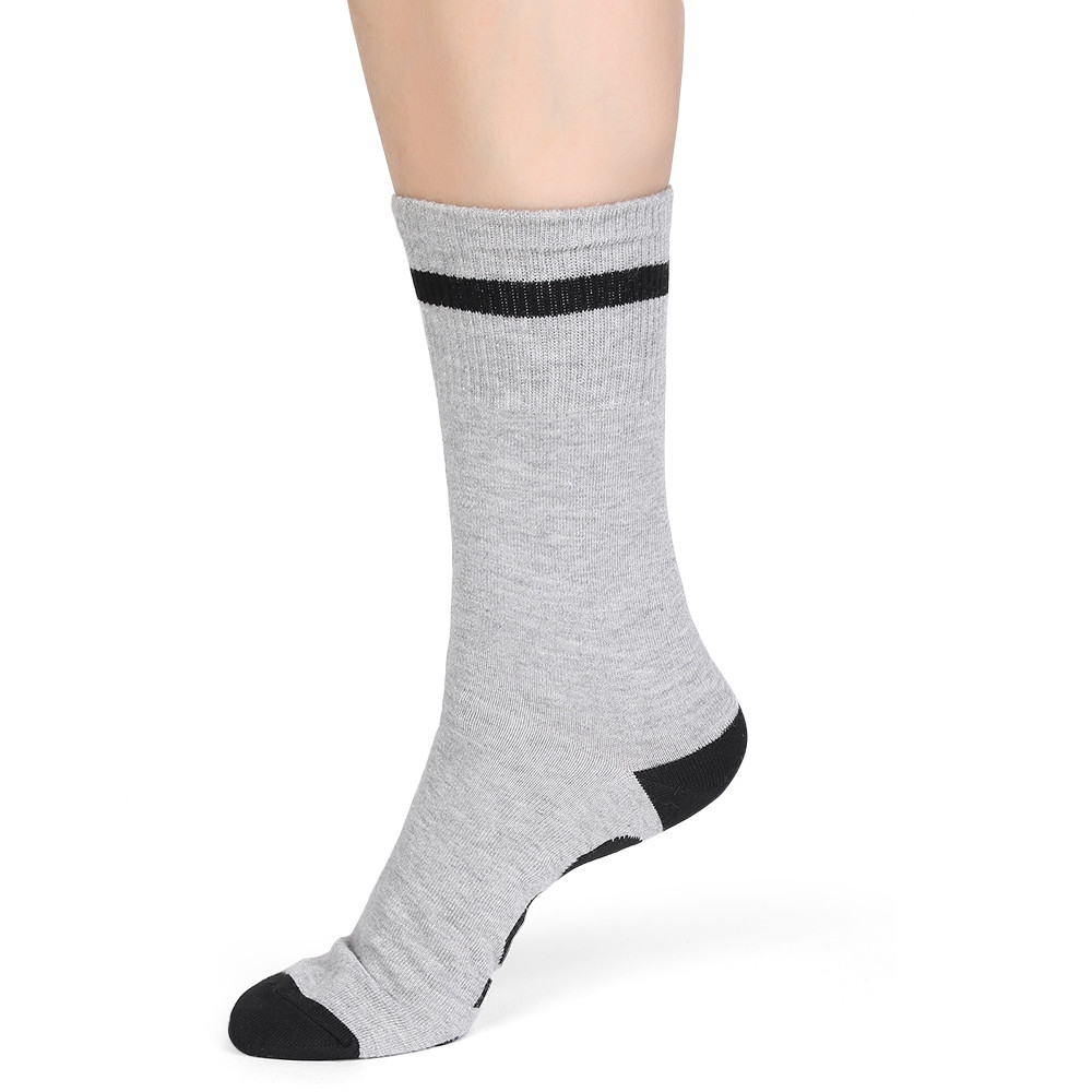 Novelty PISS OFF Printed Crew Socks GRAY GOOSE