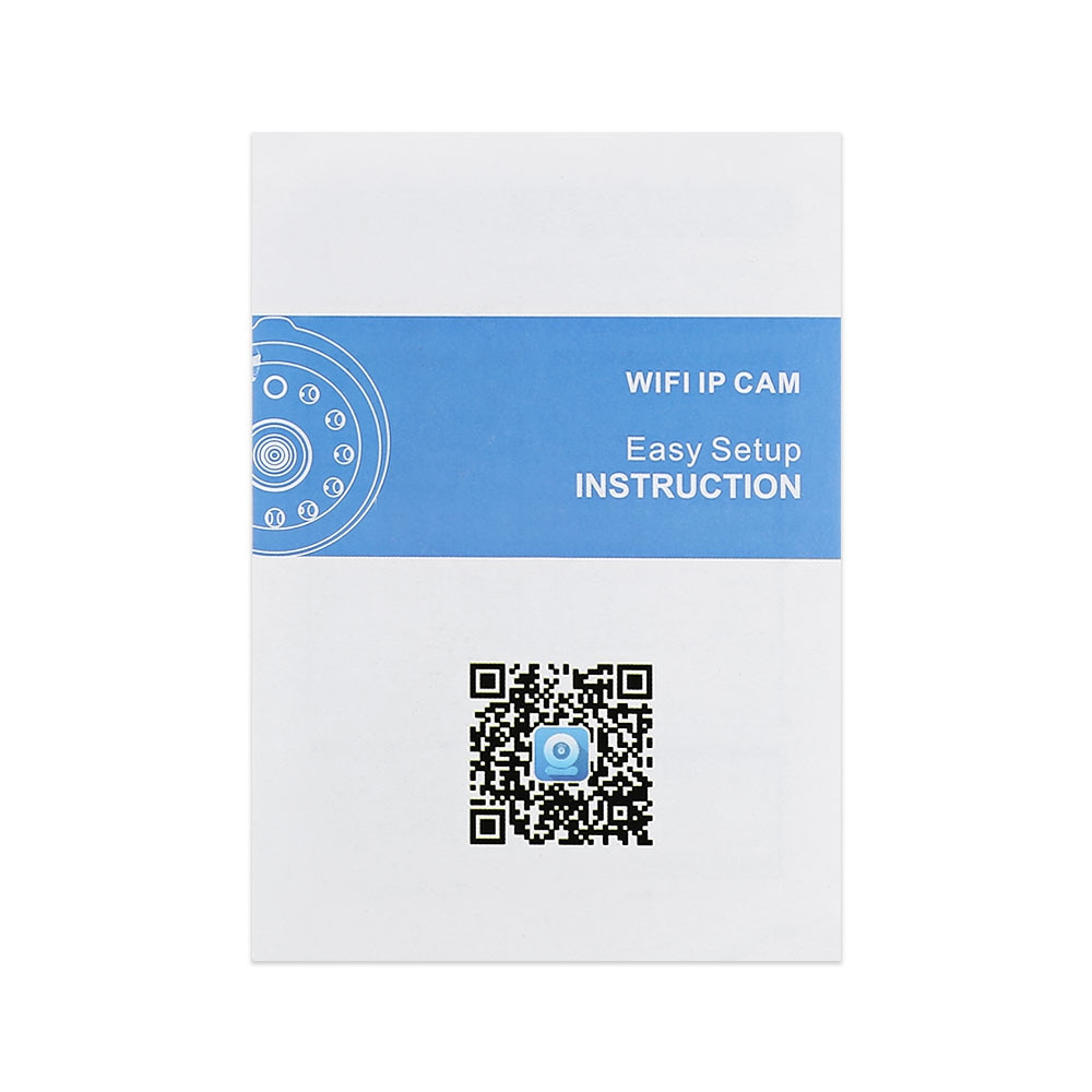 NIP - 061 HD 720P Wireless WiFi IP Indoor Security Camera