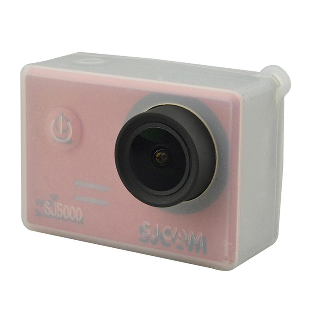 Original SJCAM Silica Gel Housing for SJ5000 / SJ5000 WiFi / SJ5000 Plus / SJ5000X Anti-scratch Shockproof
