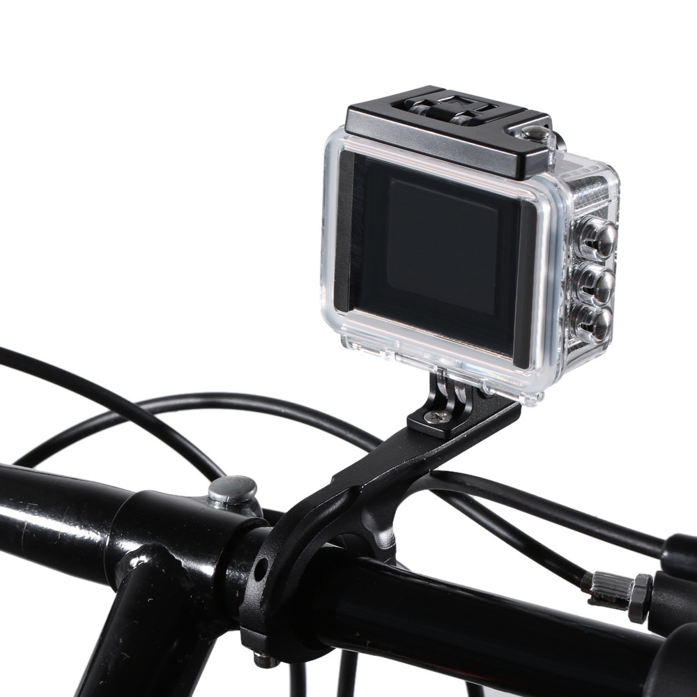 Aluminum Alloy Q F Cycling Bike Bicycle 31.8MM Diameter Frame Mount Holder Supporter for Action Camera