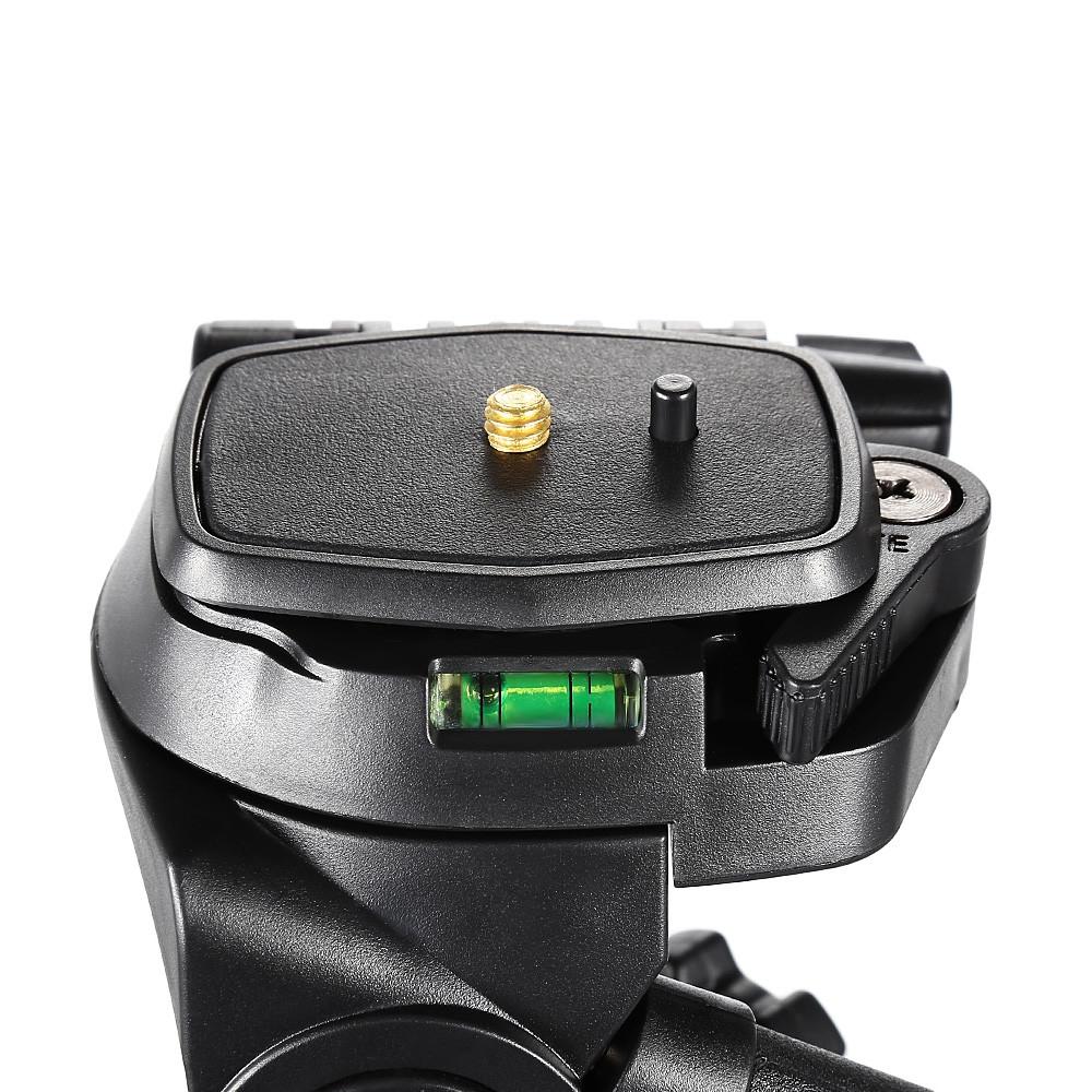 QZSD Q111 4.8ft 4 Section Aluminum Alloy Camera Tripod
