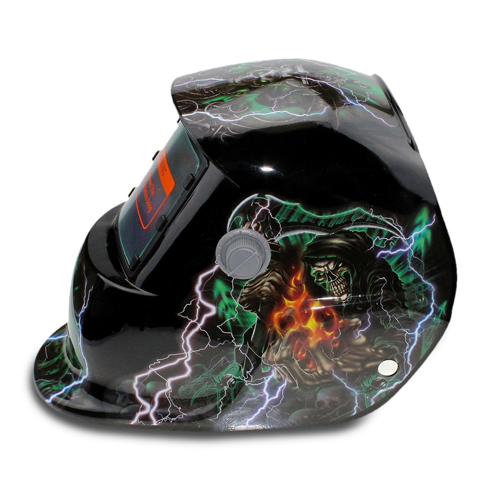 Magician Pattern Automatic Variable Light Electric Welding Protective Mask