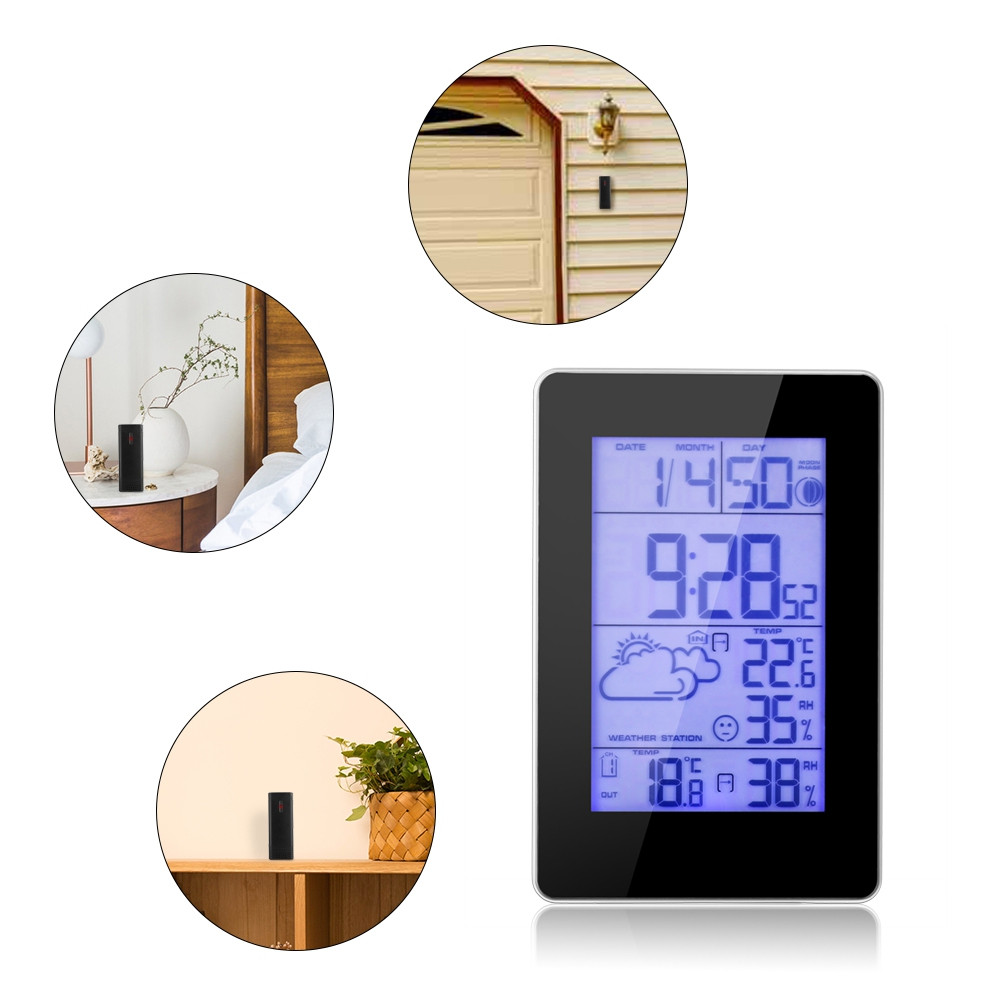 01 Durable Wireless Temperature and Humidity Sensor