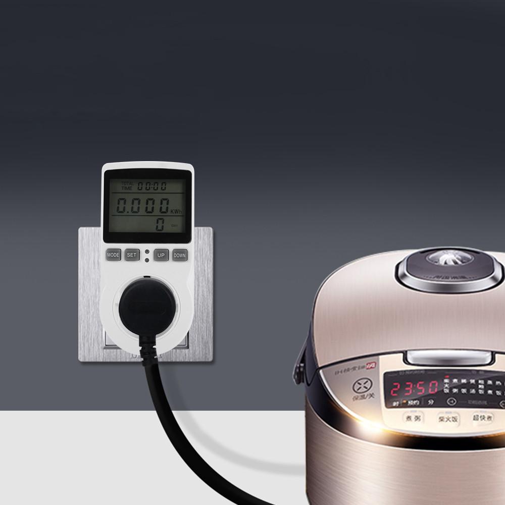 Intelligent Power Meter Socket Energy Electricity Monitor