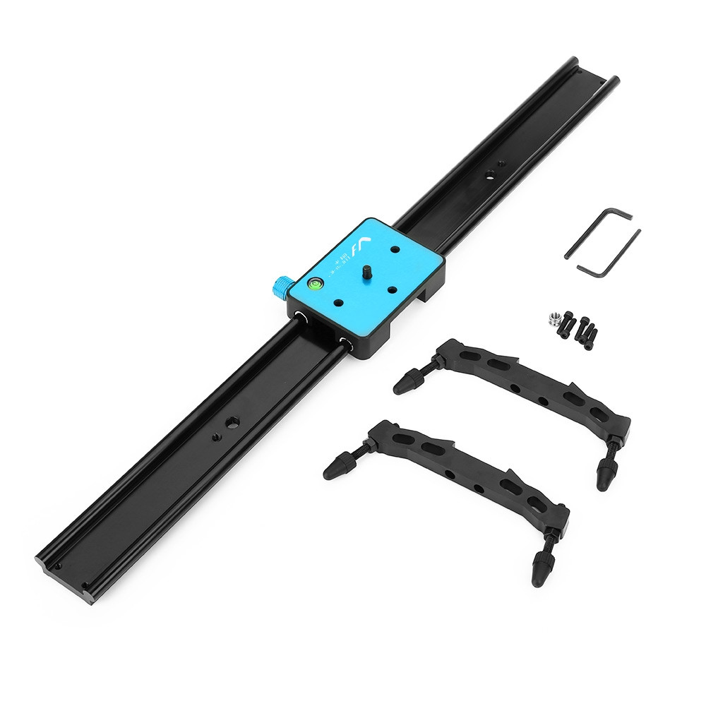 WEIHE WH60R 60CM ( 23.6-Inch ) DSLR DV Camera Damping Track Dolly Slider Video Stabilizer System