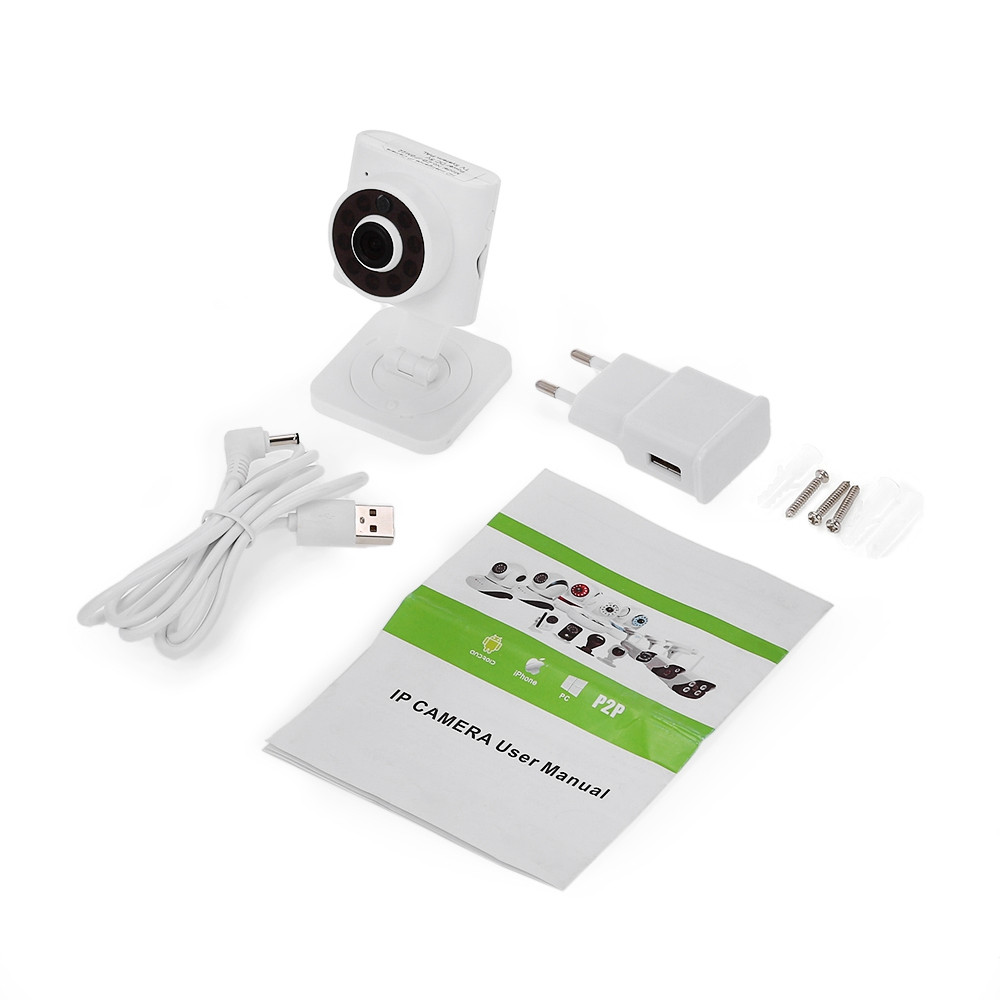 LEKEMI IPBM22 Baby Monitor WiFi IP Camera 720P with Night Vision Two-way Audio Motion Detection