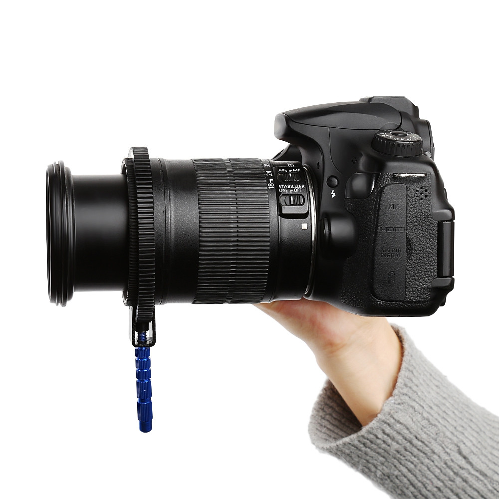 Adjustable Rubber Follow Focus Ring Belt for DSLR Camera