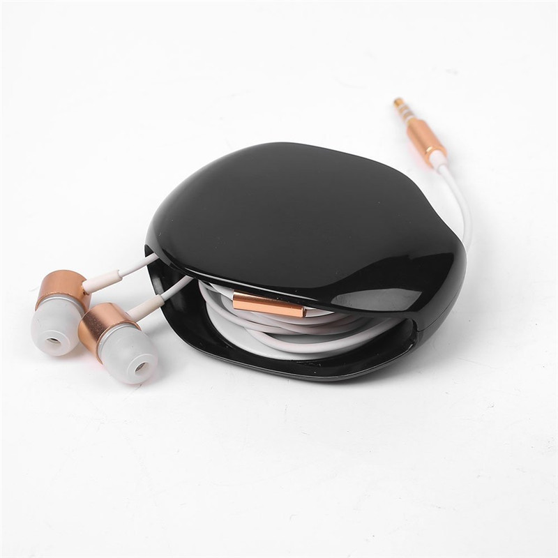Automatic Cable Winder Cord Organizer Holder for Headphones USB Cables