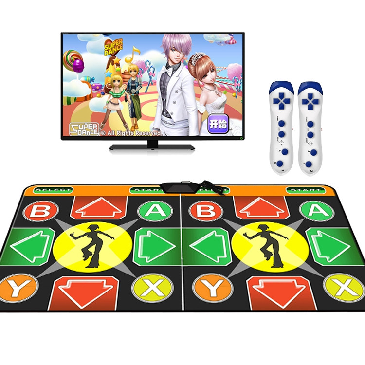 Dance Pad Wired Motion Sensing Game Yoga Mat