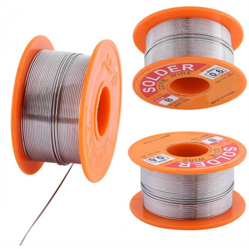 0.5 / 0.6 / 0.8 / 1.0MM Rosin Solder Tin Lead Flux Soldering Welding Iron Wire