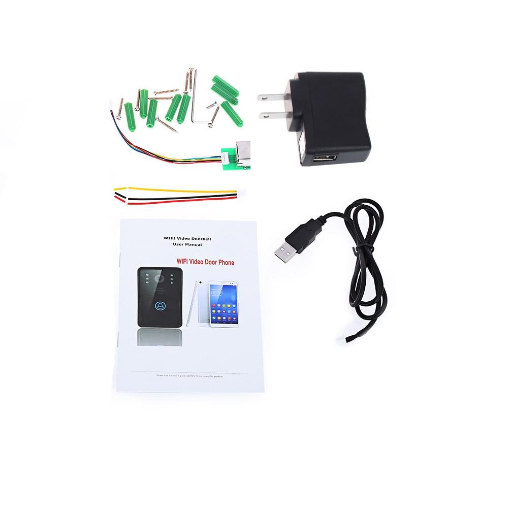 Smart Wireless Doorbell WiFi Video CameraIR Night Vision