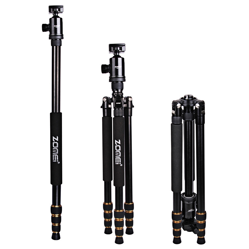 Zomei Z688 64 Inches Lightweight Professional Camera Video Aluminum Tripod with Bag