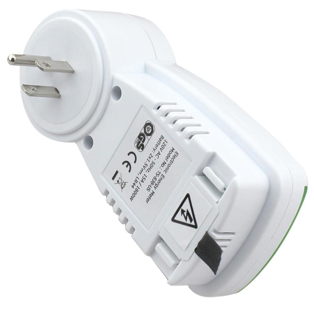 TS - 838 US Plug Wattage Voltage Current Monitor Analyzer