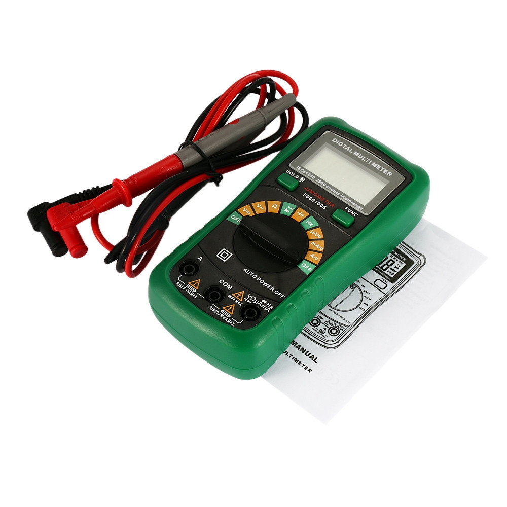 AIMOMETER Auto Range 2000 Counts DMM Digital Multimeter