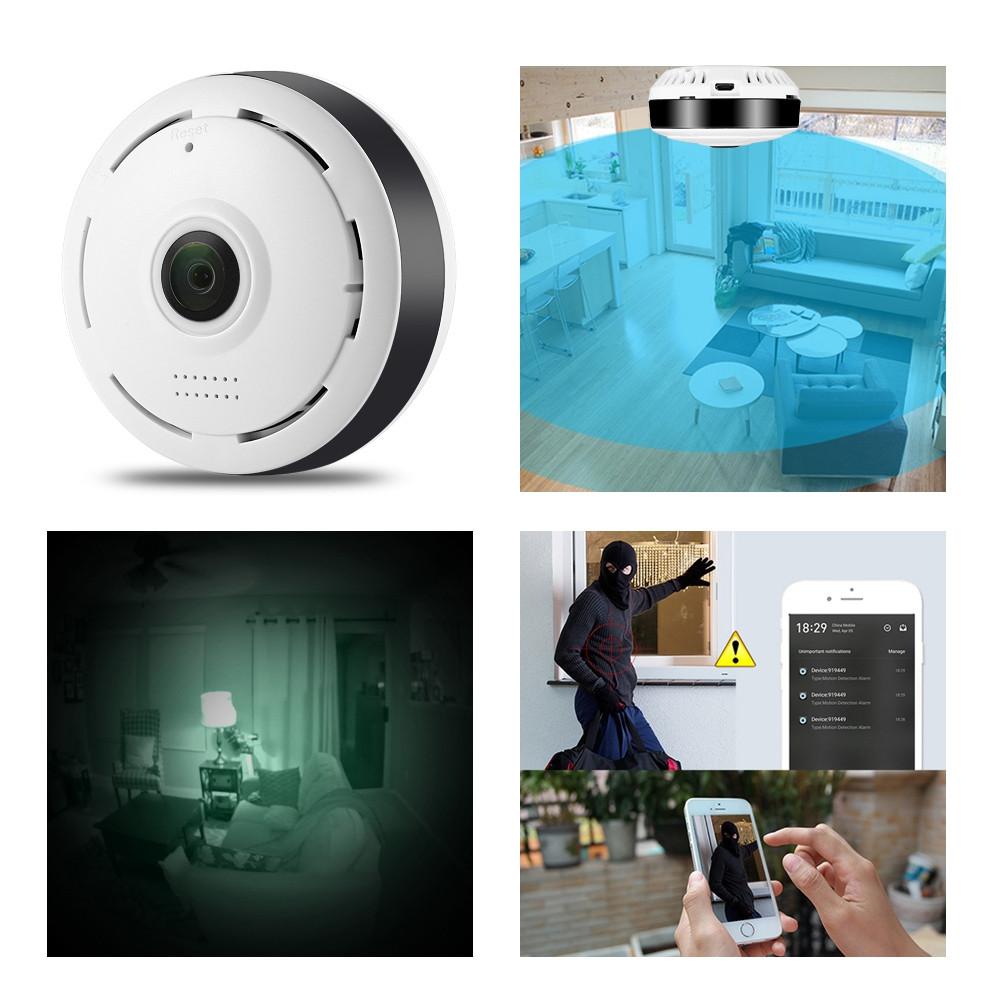 Hiseeu HSY - P6 HD 960P WiFi IP Indoor Security Camera
