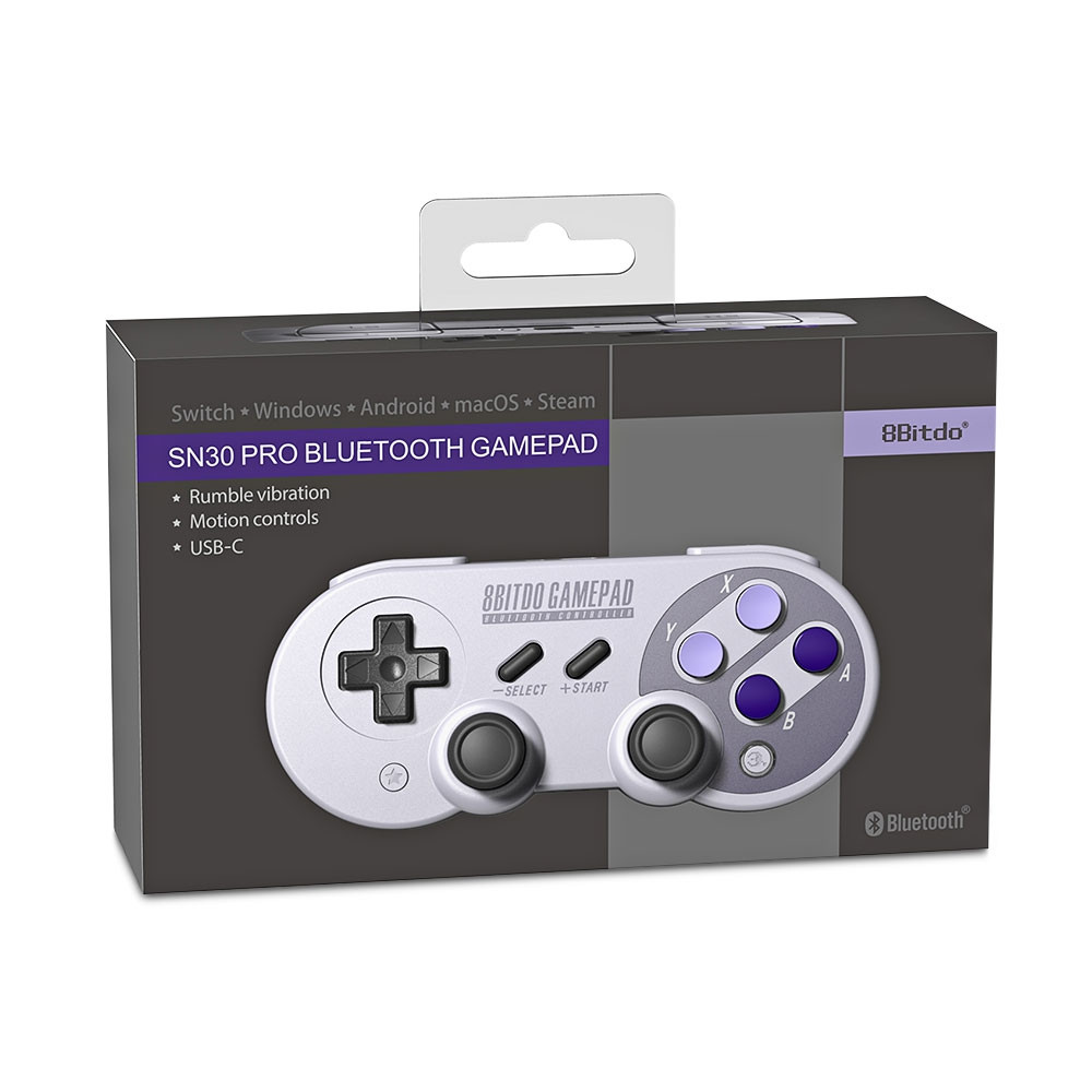 8Bitdo SN30 Pro Wireless Bluetooth Controller with Joystick