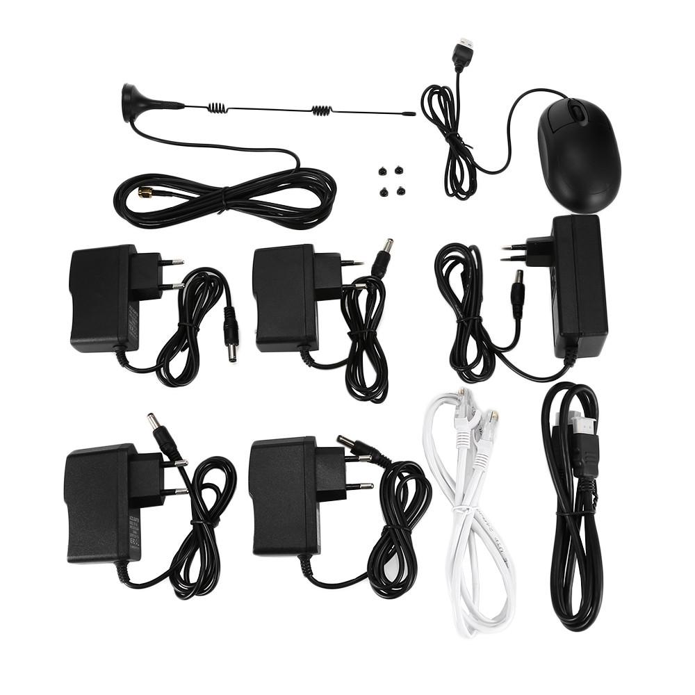 Hiseeu WNKIT - 4HB612B 4CH Wireless CCTV Security System