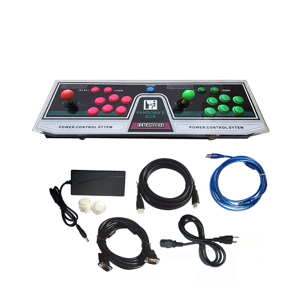 PANDORASBOX Video Games Arcade Console Machine Double Joystick Pandora's Box 5s VGA HDMI 3