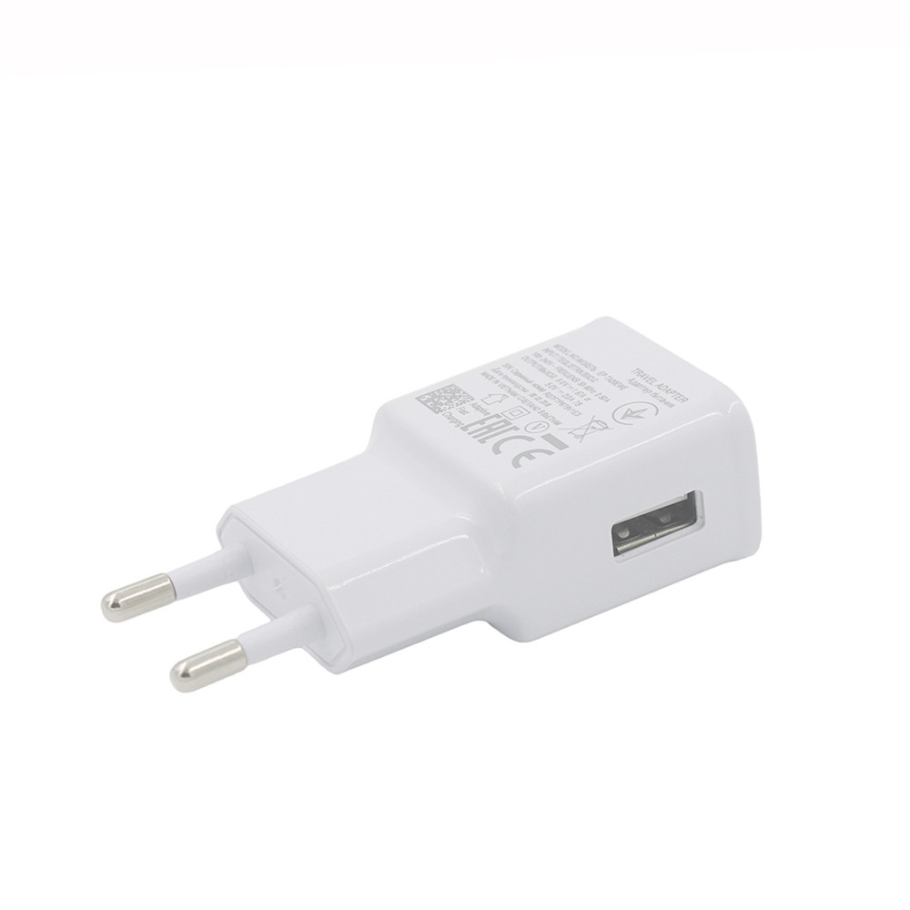 Minismile Universal Smart Travel EU Plug USB 5V / 9V Self-adaptive Wall Quick Charger Adapter for Mobile Phone