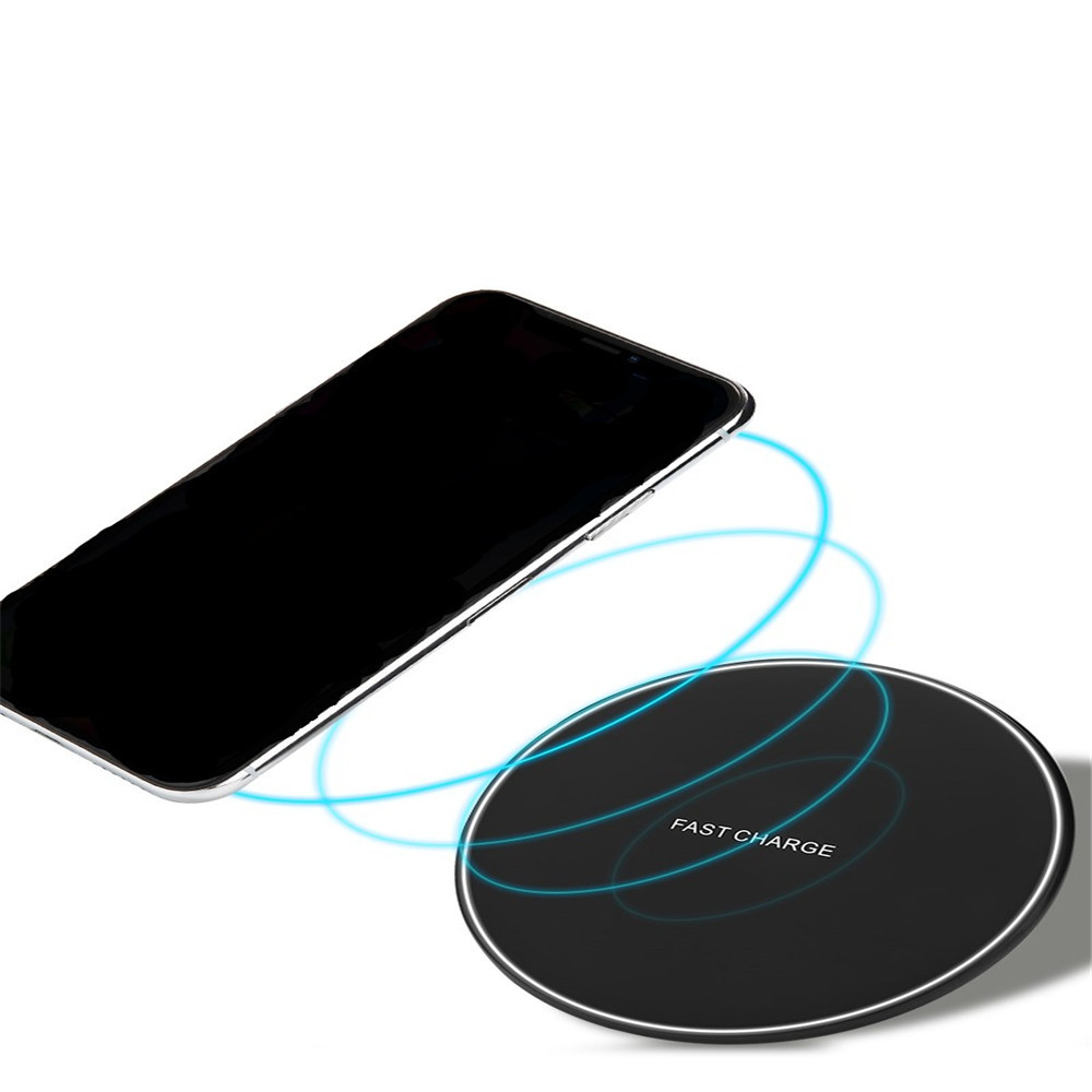 Wireless Charger Desktop Fast Charger For iPhone / Samsung / HTC