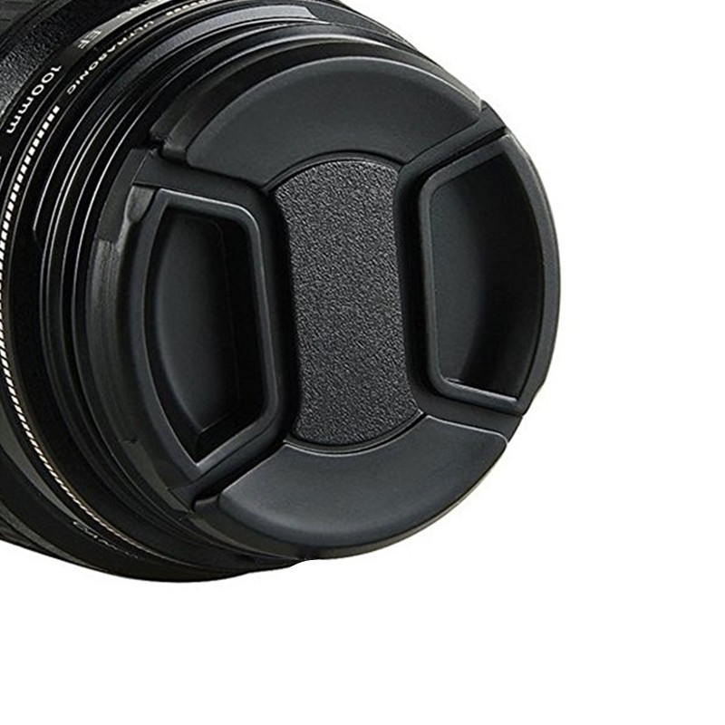 58MM Detachable Lens Cap Extra Strong Springs Nikon Canon Sony and Other SLR Cam