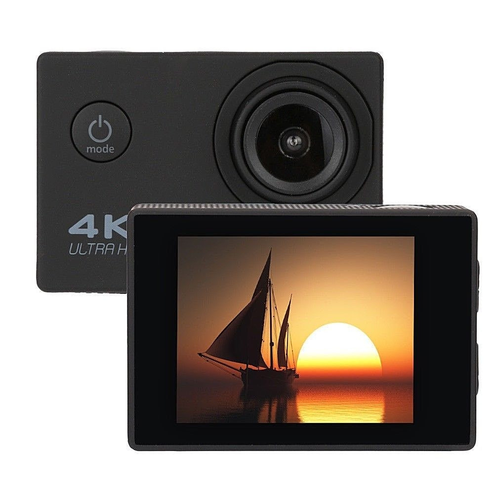 4K 2.0 LCD WiFi Ultra HD Waterproof  Action Sport Camera