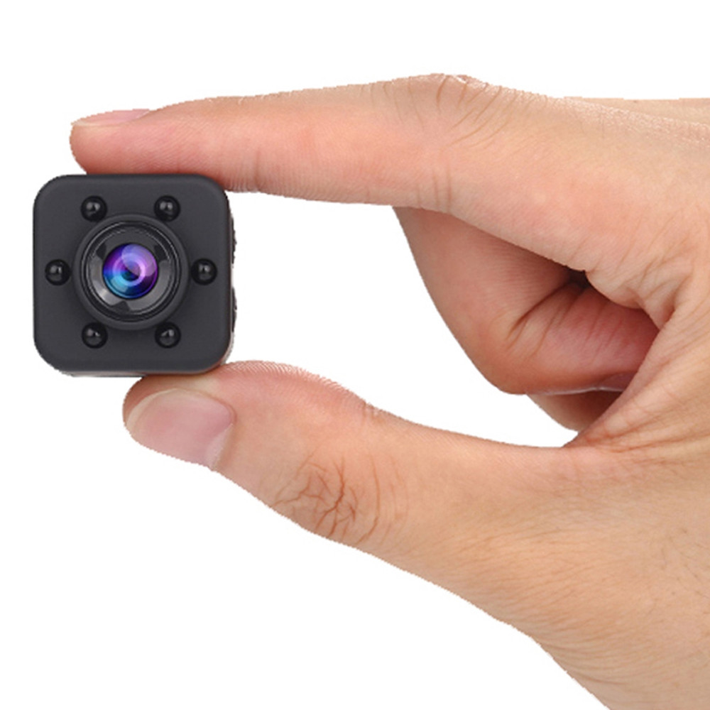 1080P HD Wide Angle 155 Degree IR Night Vision Mini Camera with Magnetic Sheet