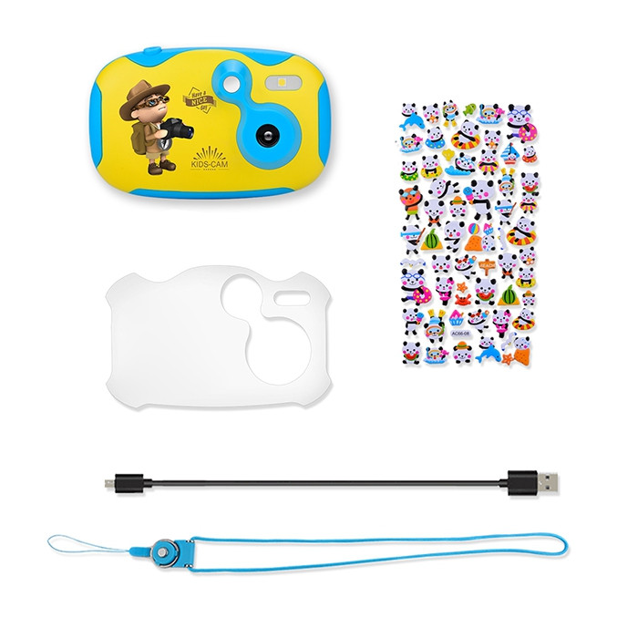 Amkov CD - DF 2MP Mini Cute Kids Digital Camera with 1.44 inch Full Color Display