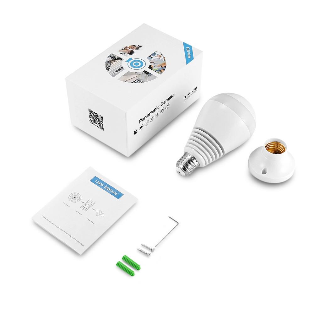 GBTIGER 2AKWJ - FVRF3602 WiFi Light Bulb Camera HD Webcam