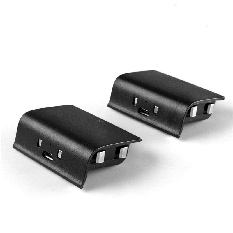 Charger Dock Kit and 2 Rechargeable Batteries for Xbox One Wireless Controller