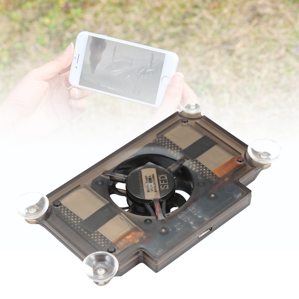 Mobile Phone Heat Sink Radiator Game Cooler with Silicone Suction Cup