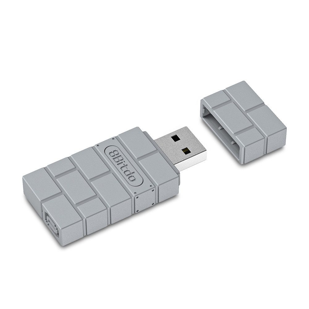 8Bitdo USB Wireless Adapter for PS1 Classic Edition
