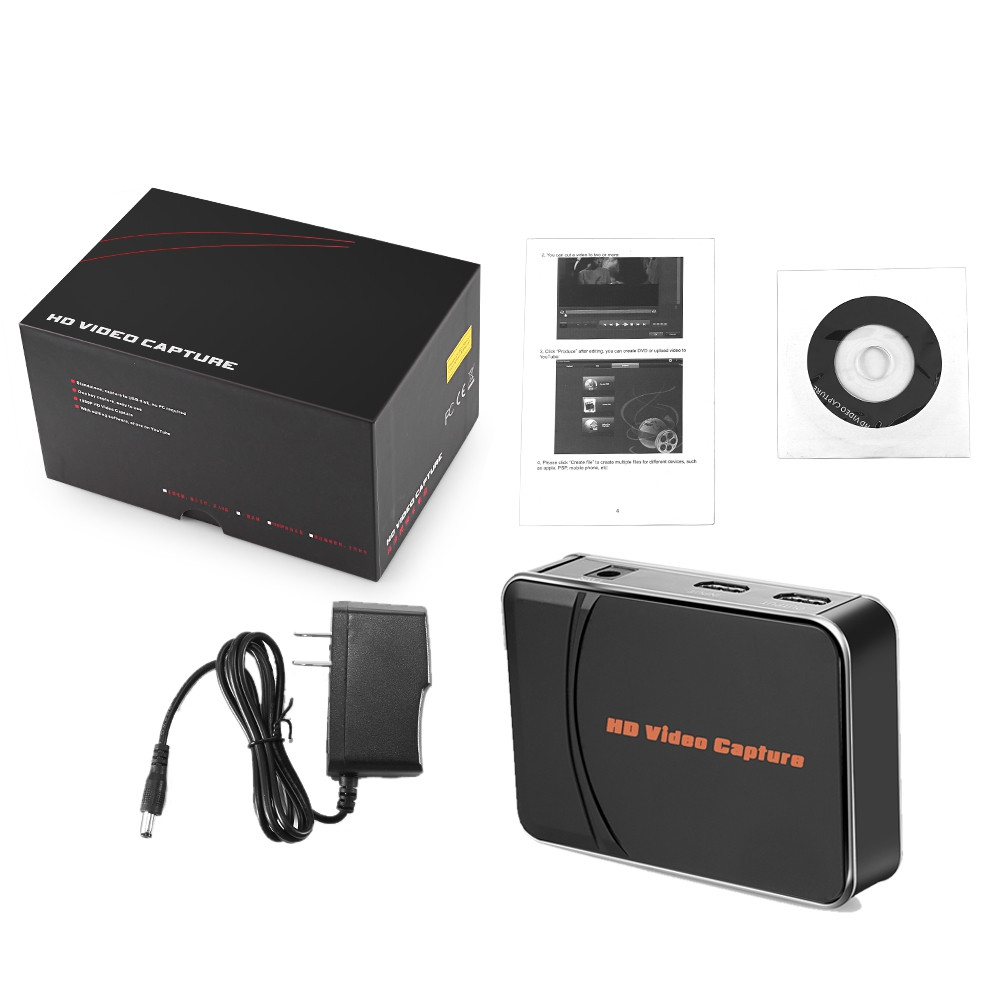 Ezcap 280H HDMI Game Video Capture with Mic Input