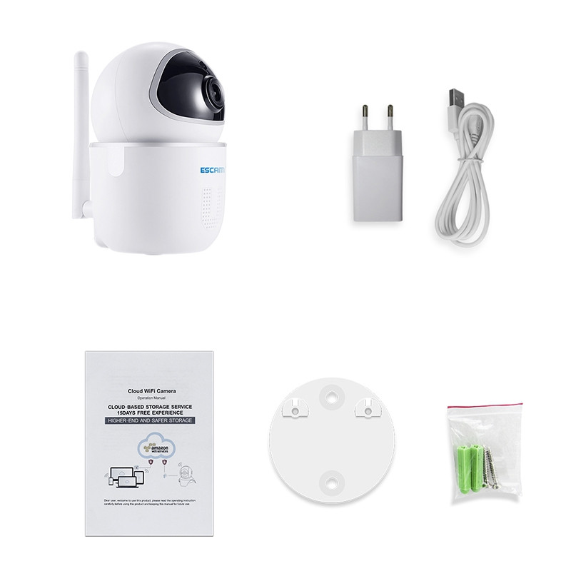 ESCAM QF009 1080P Cloud Storage Wireless Network Camera
