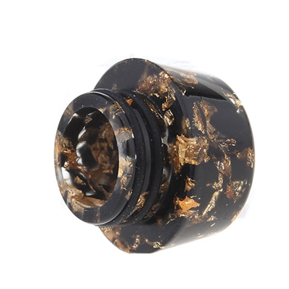 YUHETEC 810 mushroom shaped gold spot resin drip tip 1pcs