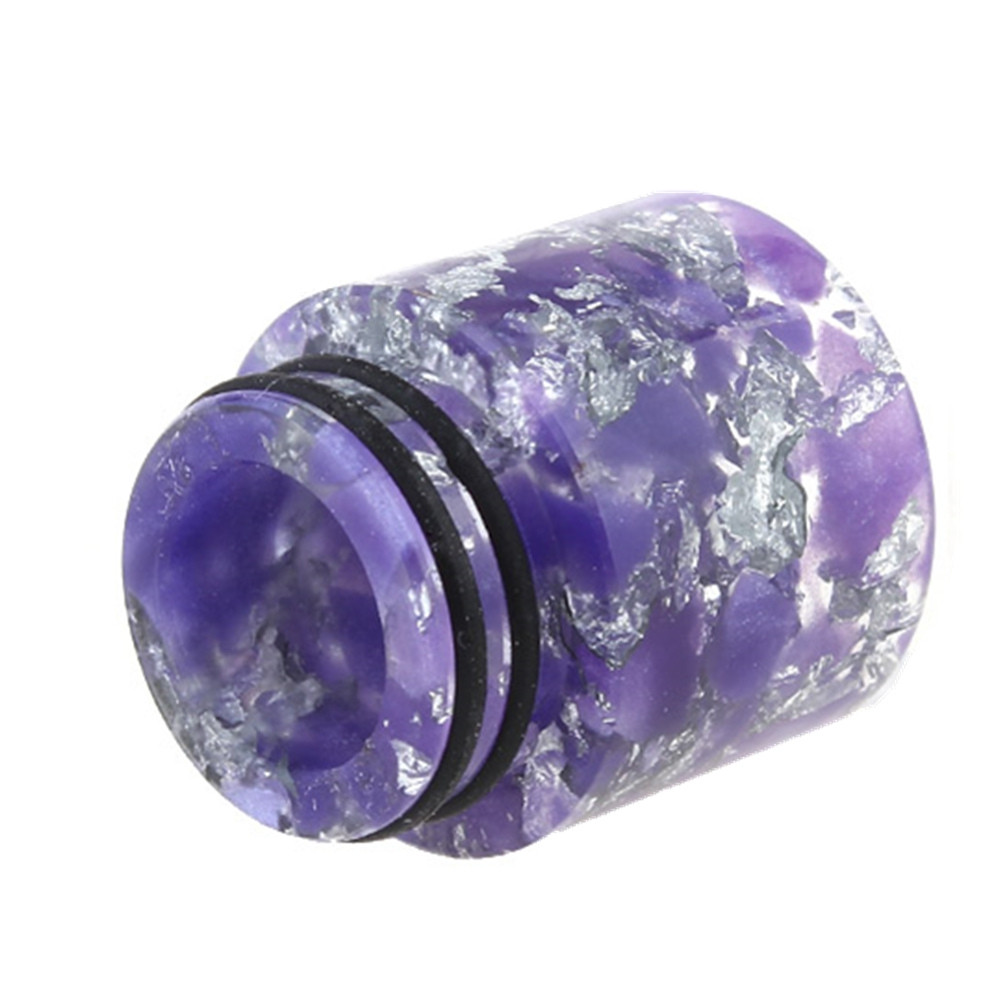 YUHETEC 810 Resin drip tip with Silver spots 16x18mm 1PCS
