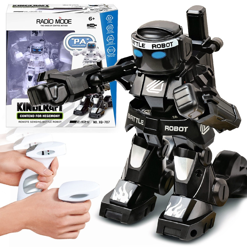 777 - 615 Battle RC Robot 2.4G Body Sense Remote Control Kids Gift Toy Model