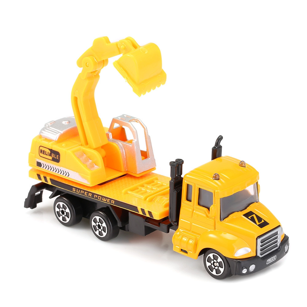THE NORTH E HOME Kids Alloy 1:64 Scale Excavator Truck