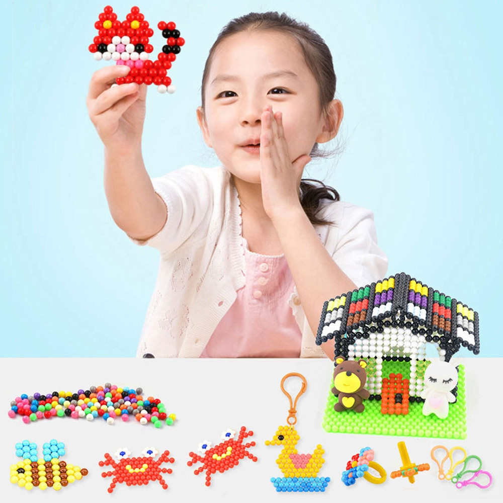 15 Colors 3500 Water Sticky Beads Magic Handmade DIY Toy for Kid