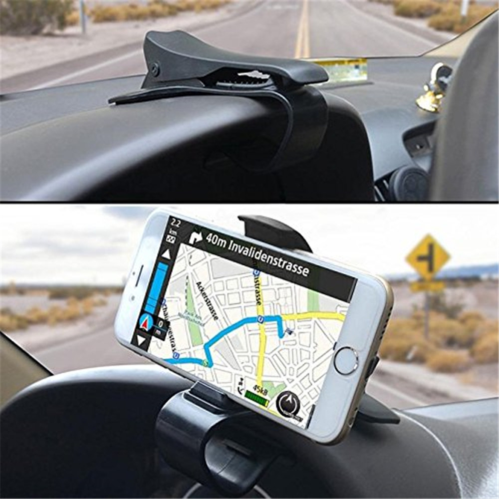 Car HUD Dashboard Clip Mount Stand Holder for Cell Phone GPS