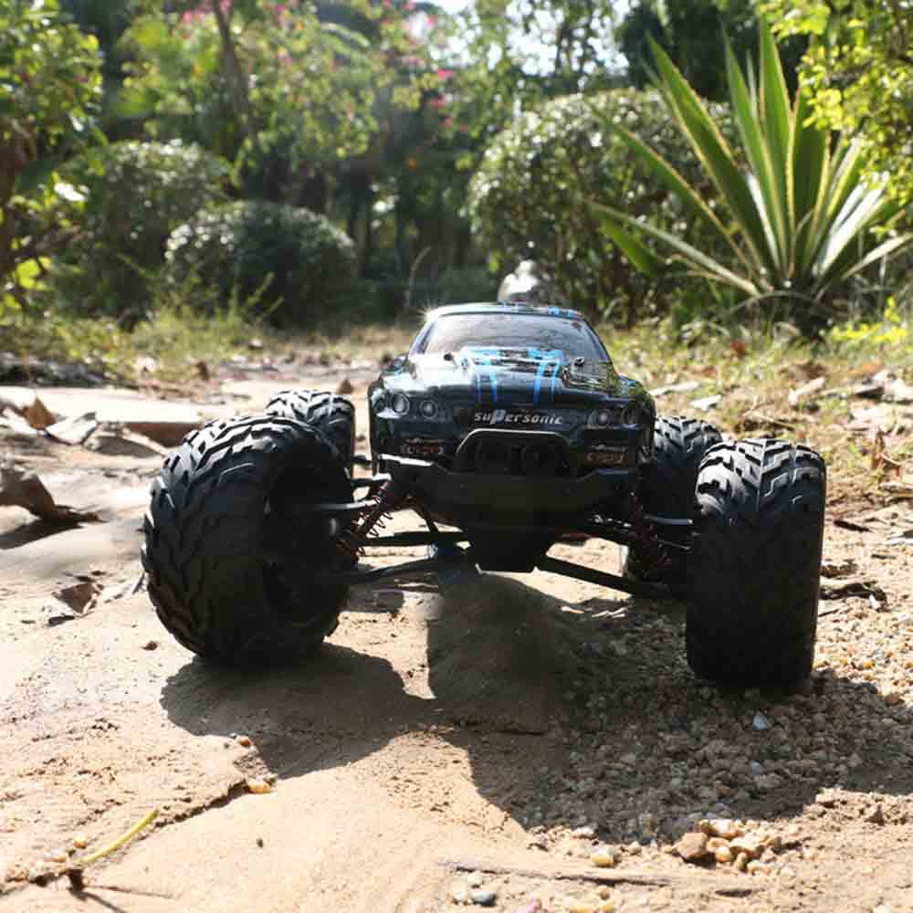 9115 1 / 12 Scale 2.4G 4CH RC Truck Car Toy with 2 - Wheel Driven Electric Racing Truggy