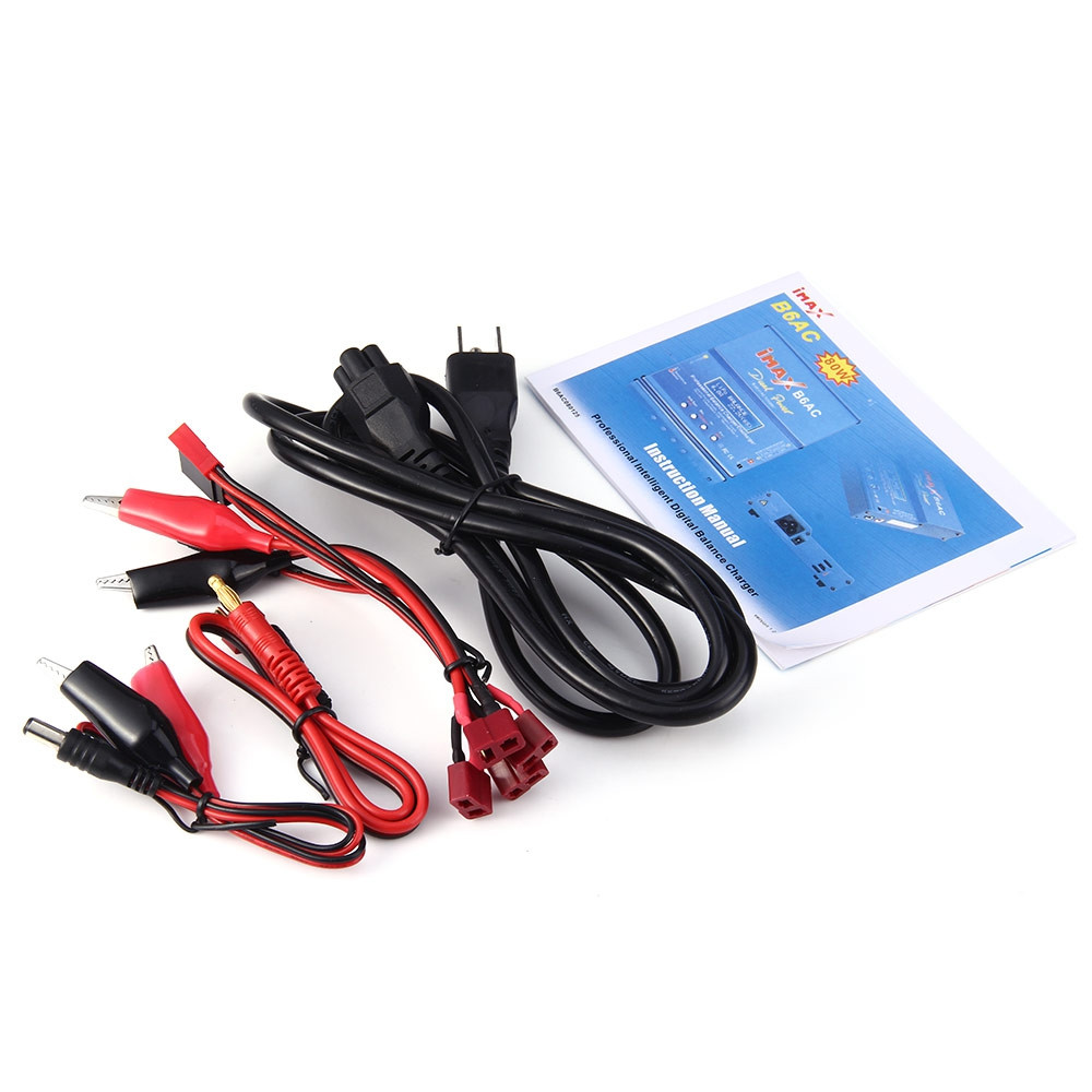 B6AC Digital RC Lipo NiMH Battery Balance Charger Discharger