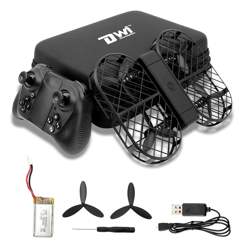 Dwi Dowellin D7 Foldable RC Drone WiFi Camera / Altitude Hold / G-sensor Control / Headless Mode / 3D Flip