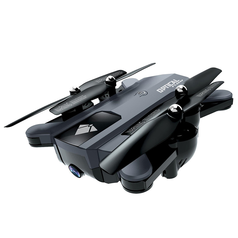 F196 WiFi PFV RC Drone Quadcopter 2MP HD Camera Optical Flow Altitude Hold Gesture Shoot Headless Mode One Key Return