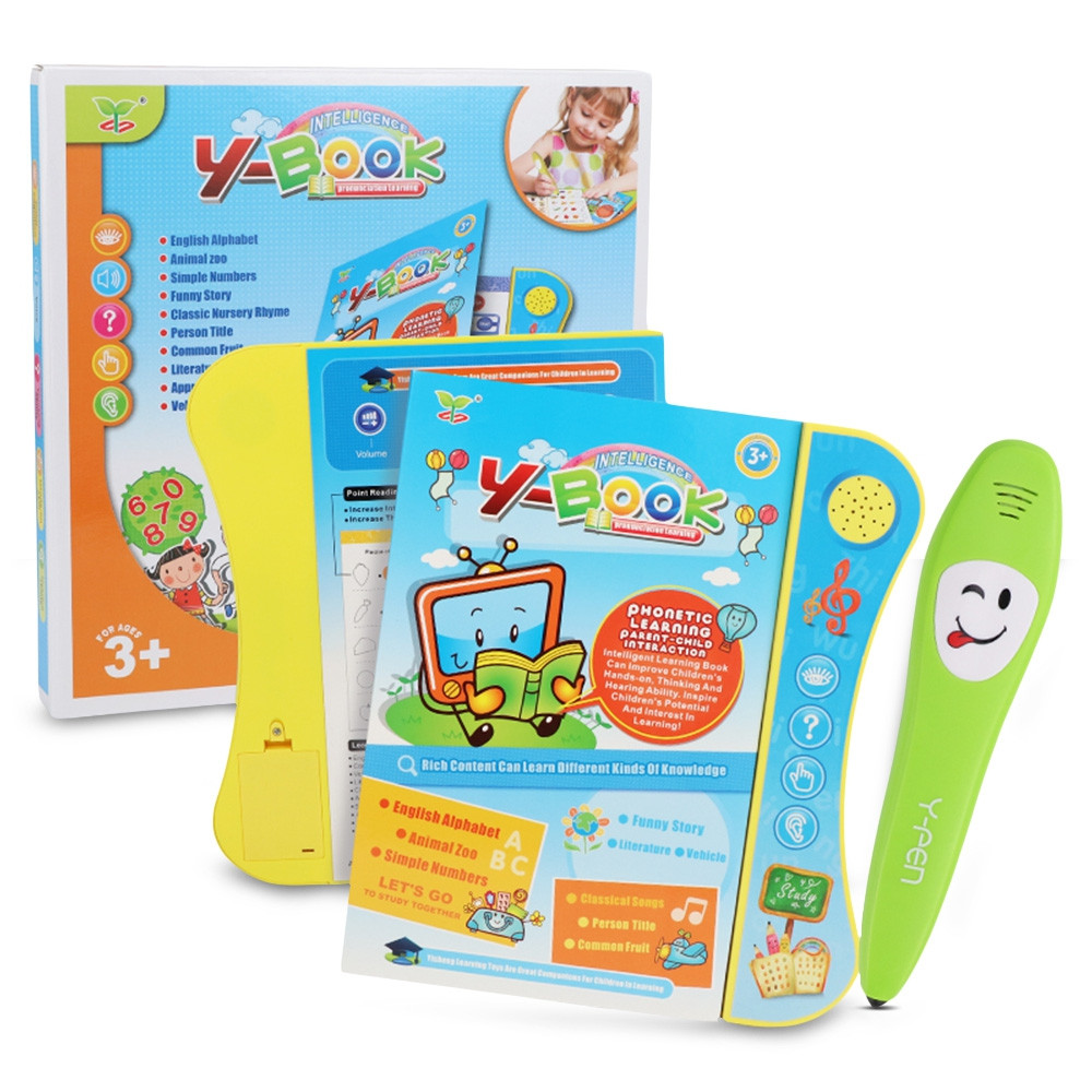 No.2605C English Voice Learning Book with Smart Logic Pen