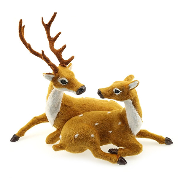Merry Christmas Best Creative Gift Elk Plush Pendant