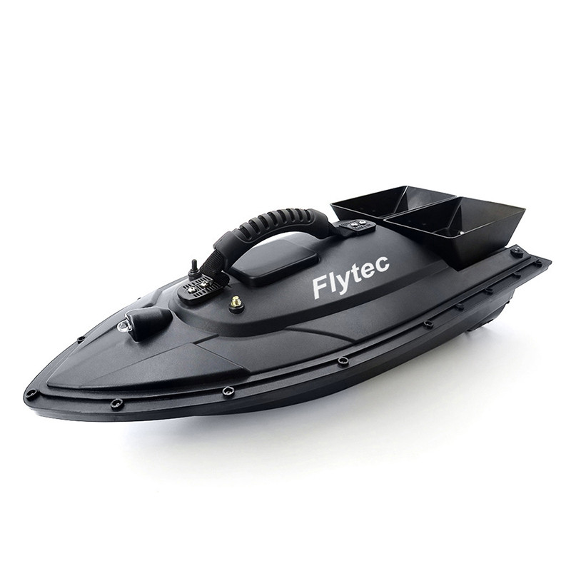 Flytec HQ2011 - 5 Fishing Tool Smart RC Bait Boat Toy US Plug