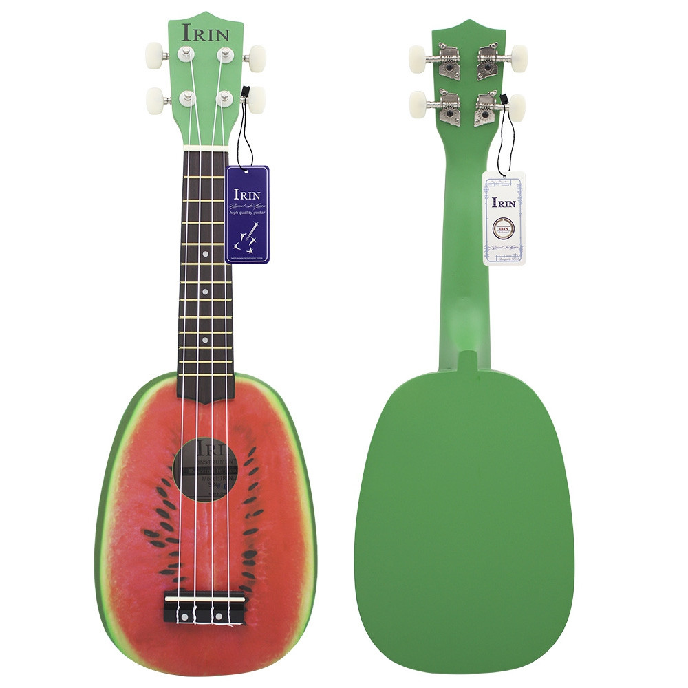 IRIN 21 inch 4 String Hawaii Basswood Ukulele Watermelon Design Musical Instrument