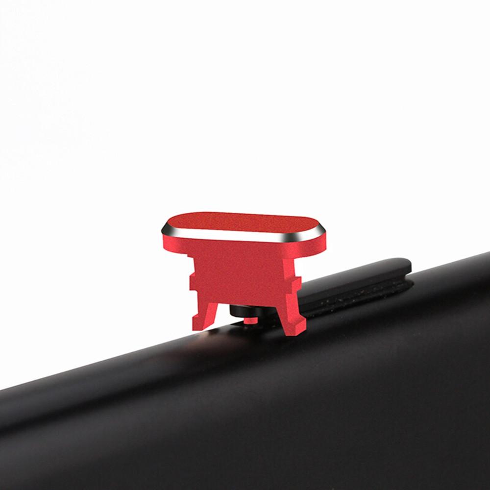 Metal 2 in 1 Sim Card Needle Charging Socket Jack Dust Plug For iPhone 7 / 8 / X