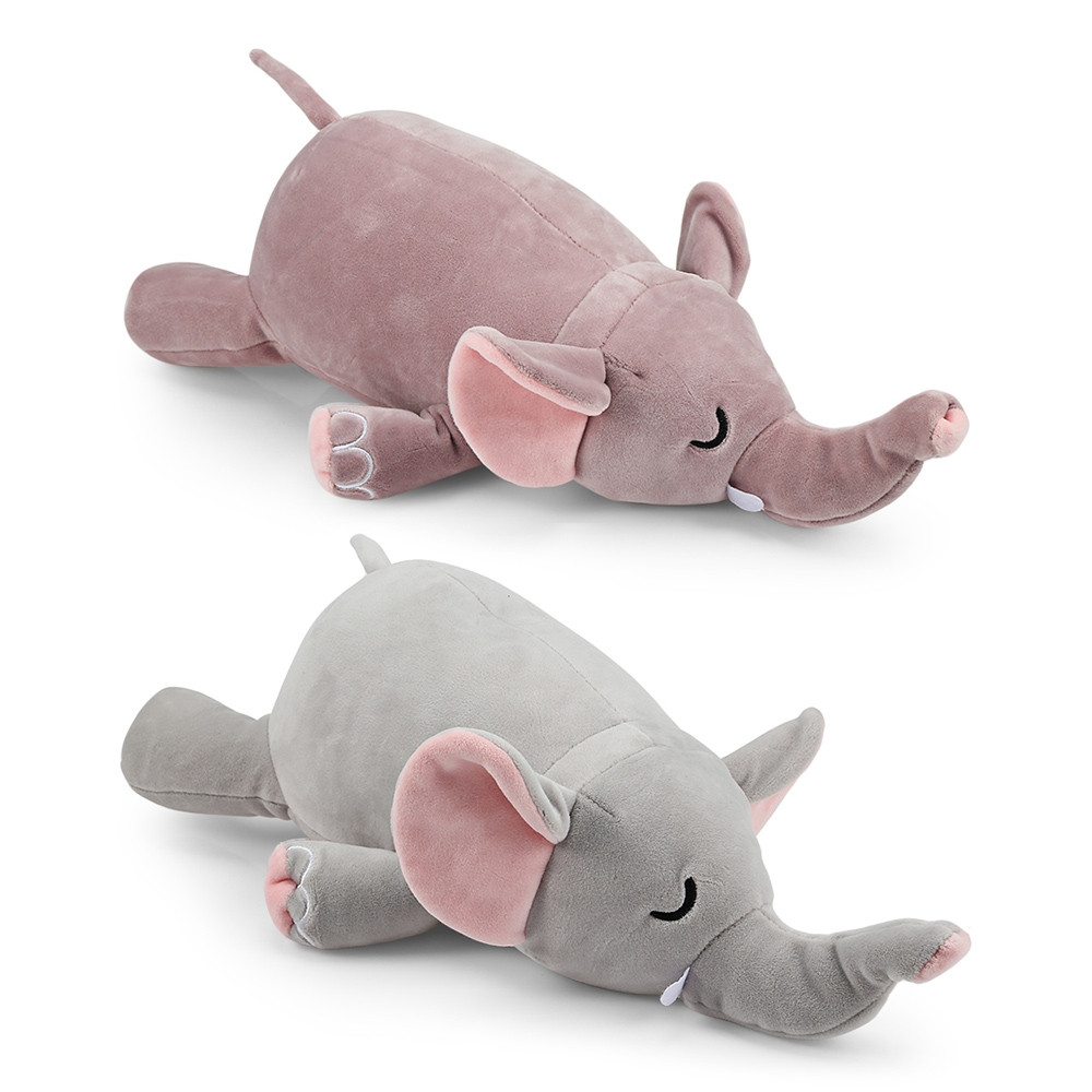Plush Doll Soft Toy Pig Elephant Cushion Transformed U Type Pillow Gifts